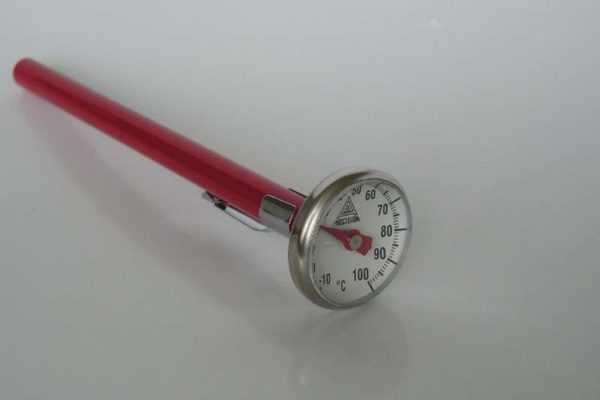klokthermometer